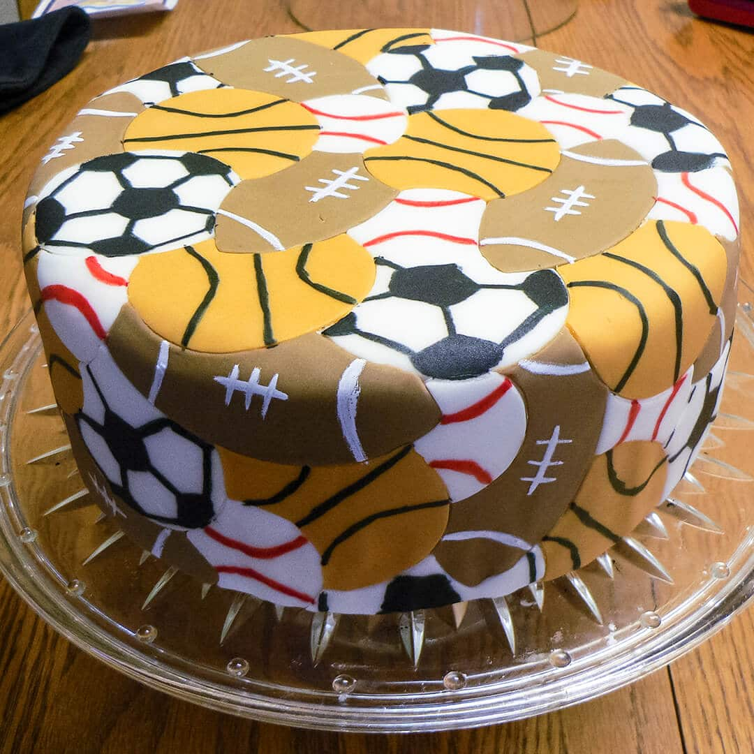 Admirable Boys Sports Birthday Cakes Ashlee Marie Real Fun With Real Food Funny Birthday Cards Online Bapapcheapnameinfo