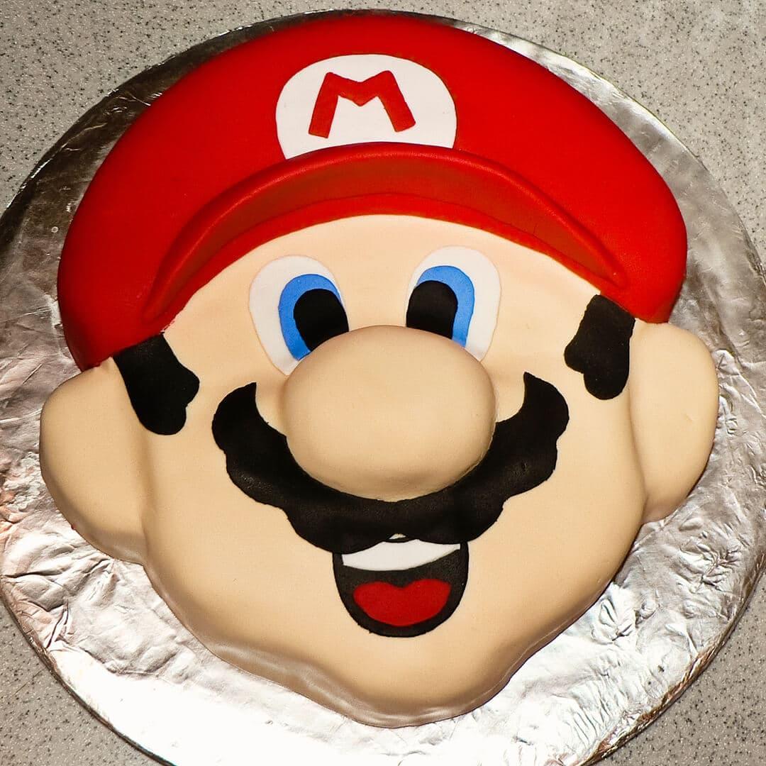 mario head cake