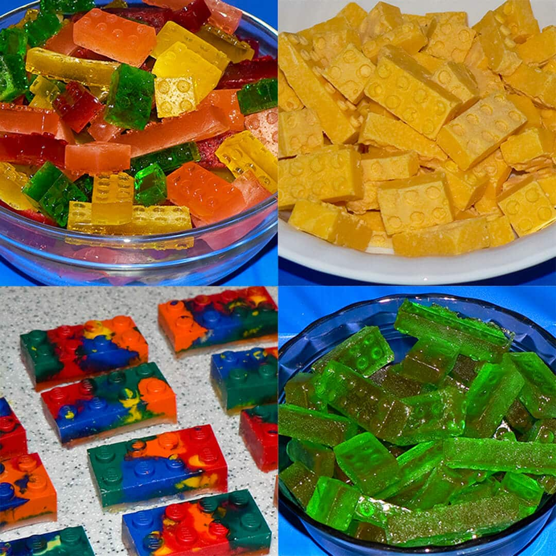 lego party and treats