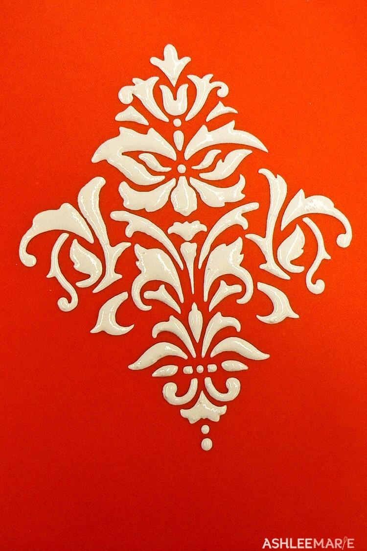 royal icing stencil