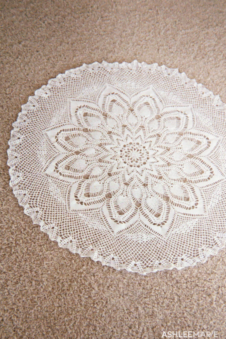 Thread Crochet Tablecloth Ashlee Marie Real Fun With Real Food