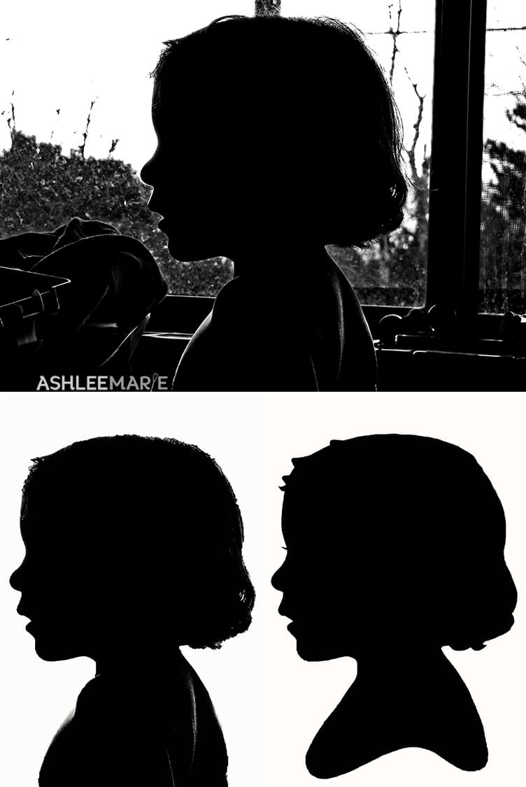 creating a silhouette in photoshop