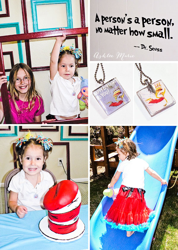 the birthday girl loved her party, her special cake, skirt, necklace and photobooth, something for everyone
