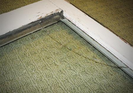 old window table tutorial craft broken glass
