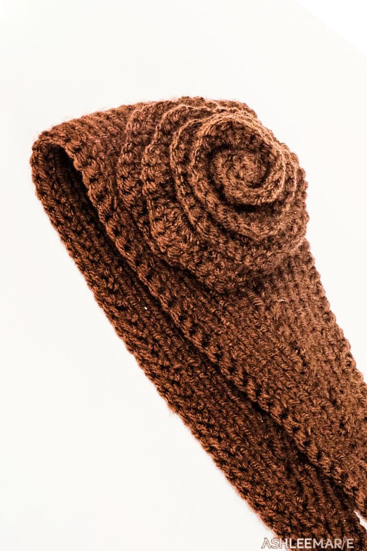 Knit Ear Warmer Pattern With Flower Crochet Ashlee Marie Real