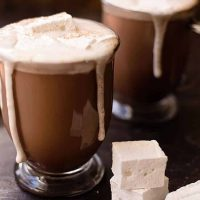 It does not get much better than hot chocolate, esp topped with fresh whipped cream or homemade marshmallows