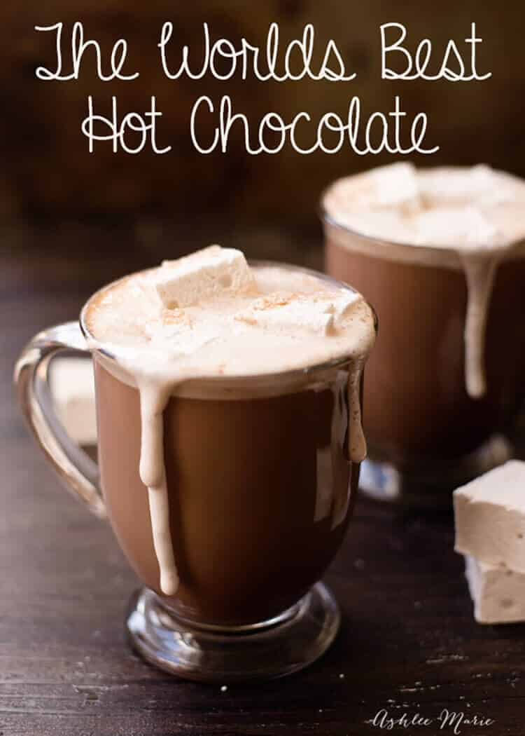 The worlds BEST Hot Chocolate | Ashlee Marie