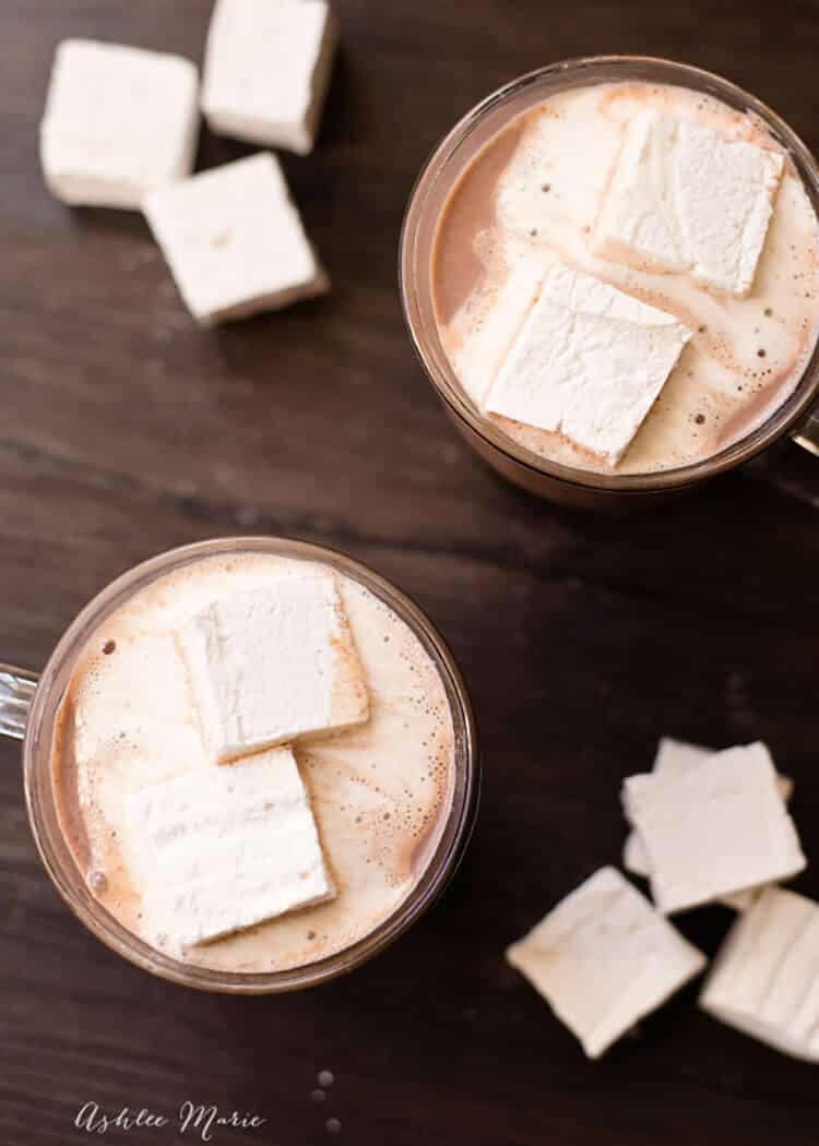 the best hot chocolate recipe you'll ever try, it's great hot, iced or frozen
