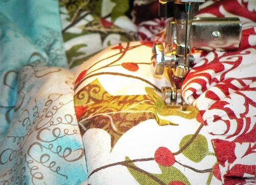 quilting zipper foot tree skirt