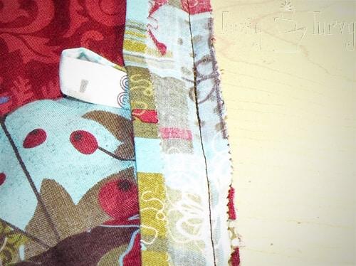 button loop in binding tree skirt