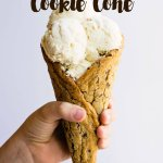 Wanna make ice cream even better- use a chocolate chip cookie cone