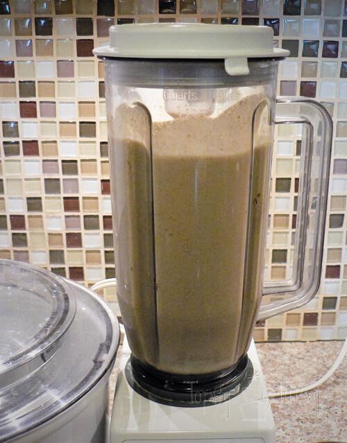 pumpkin milkshake ice cream blender