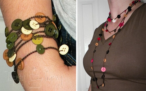 thread-crochet-button-necklace-bracelet