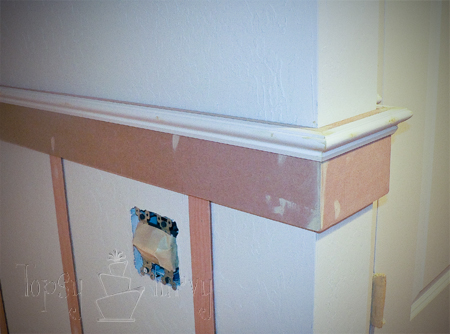 board and batten with trim