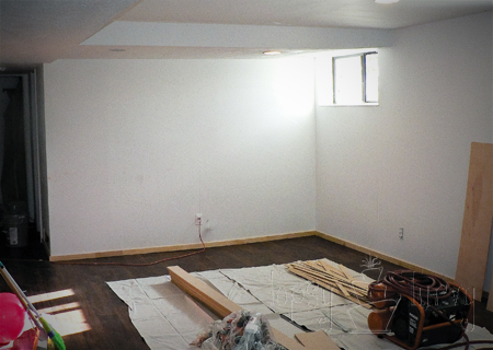 living room started