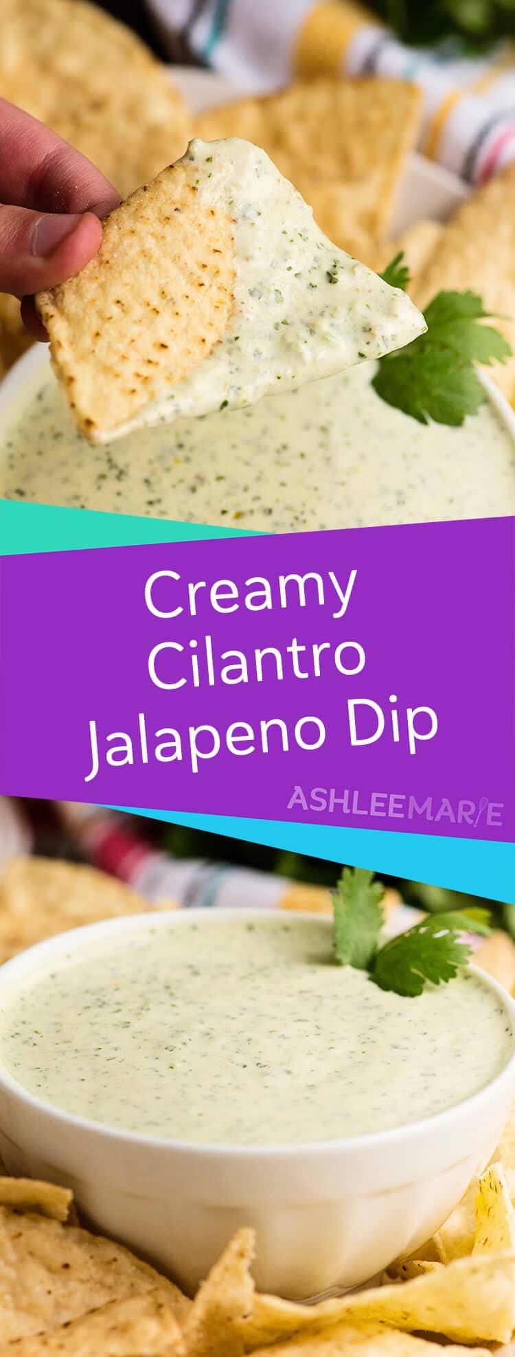creamy cilantro ranch dressing jalapeno dip