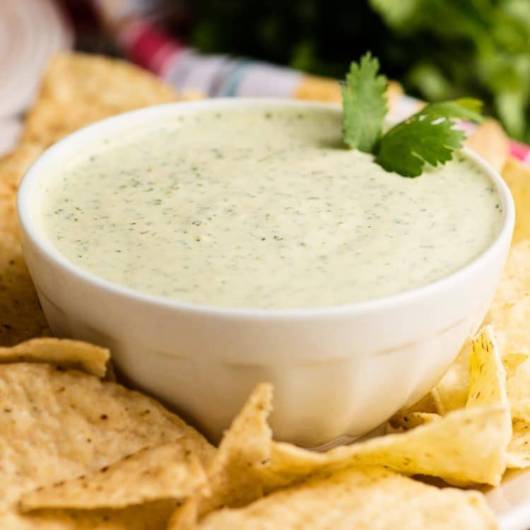 creamy cilantro ranch pickled jalapeno dip