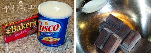 chocolate curl wedding cake supplies