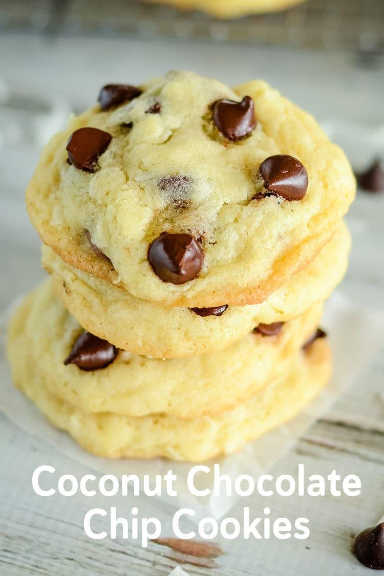 Coconut chocolate chip cookie recipe