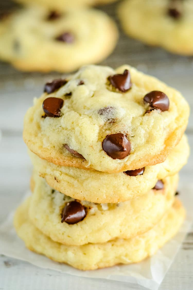 Coconut chocolate chip cookie recipe from kara cooks