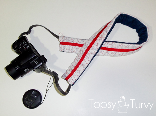 make-ruffled-camera-strap-finished