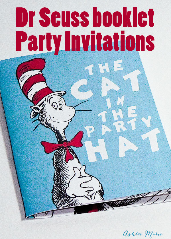 a fun storybook invitation for a fun dr seuss birthday party