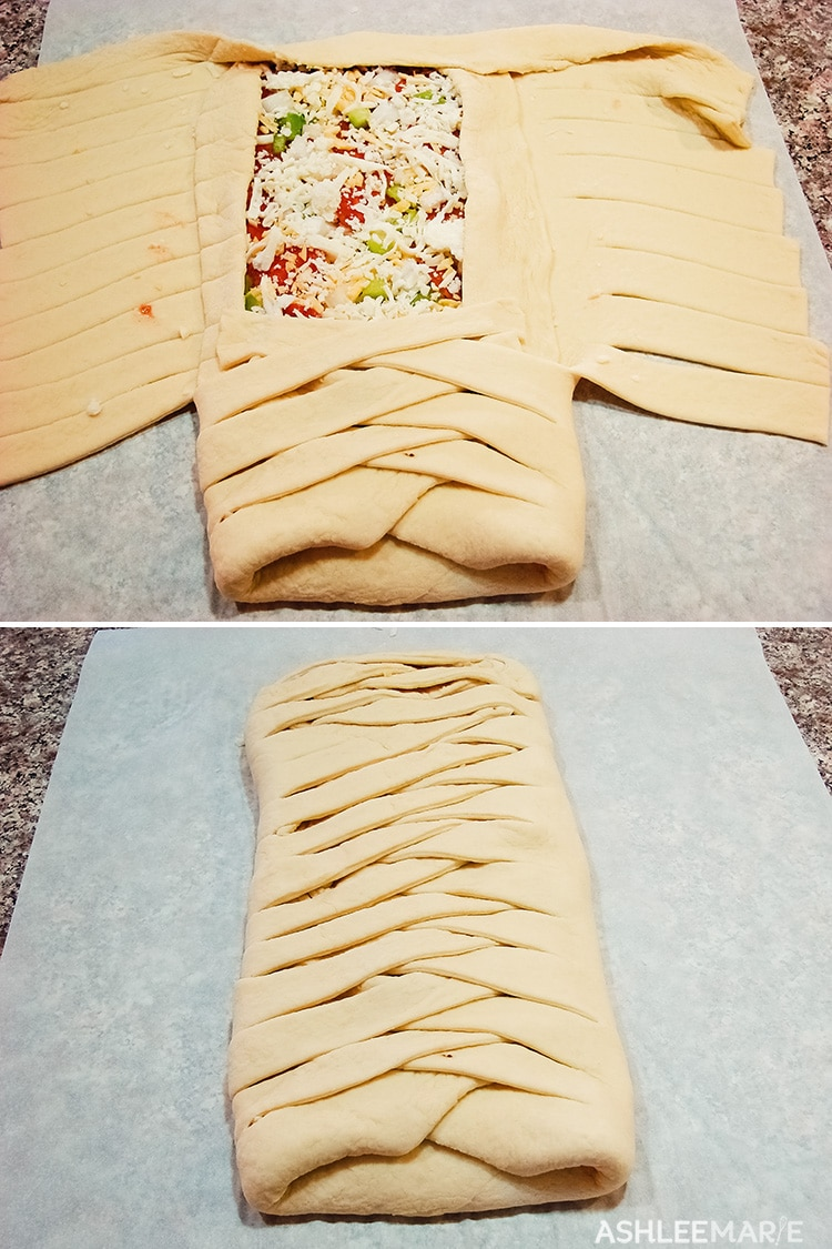 pizza braid tutorial