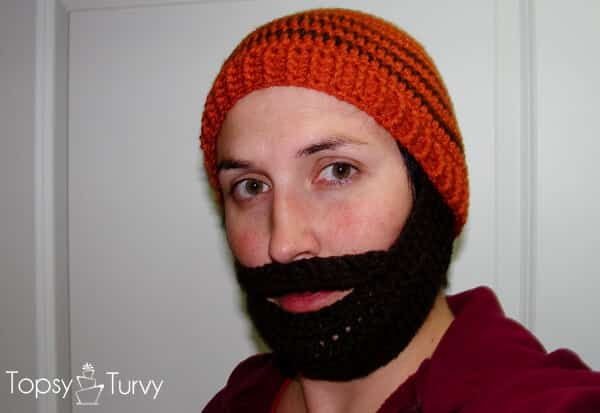 Crochet Beard Beanie Ashlee Marie Real Fun With Real Food