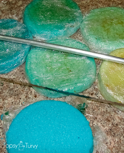 blue-chevron-ombre-birthday-cake-layers
