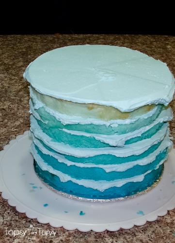 blue-chevron-ombre-birthday-cake-layered