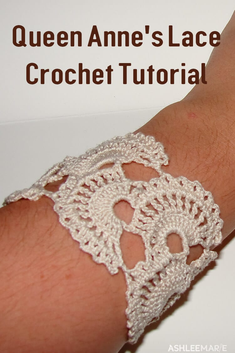 Queen Anne's Lace thread crochet