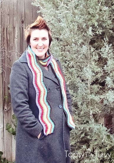 rainbow-chevron-crochet-scarf