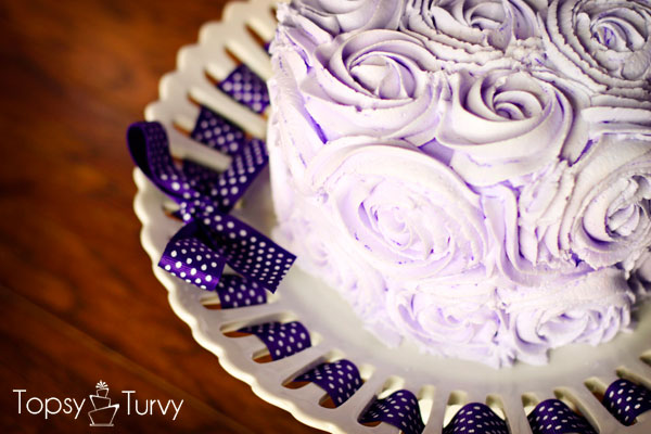 purple-rosette-butter-cream-smash-cake