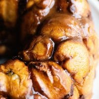 monkey bread stuffed hot chocolate