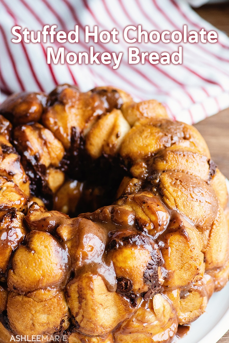 stuffed hot chocolate monkey bread
