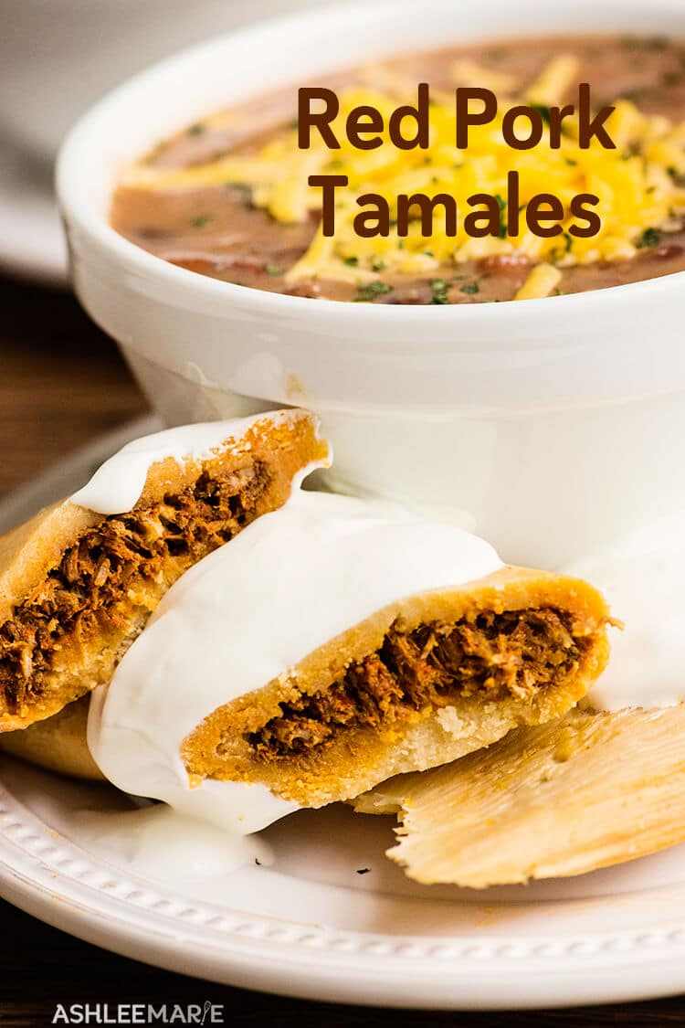 homemade red pork tamale recipe