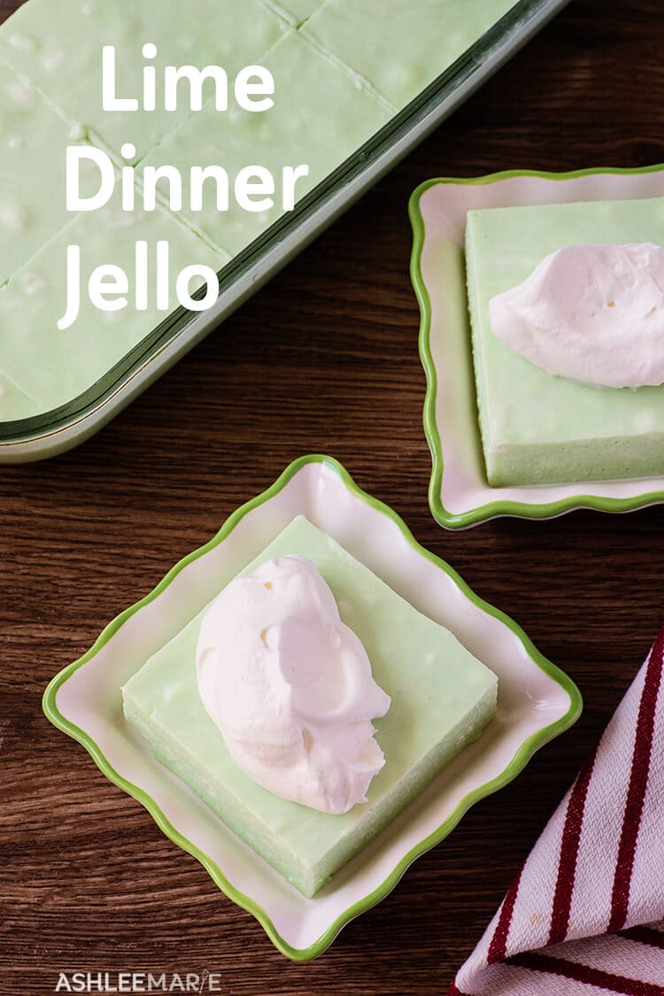 cream cheese lime dinner jello