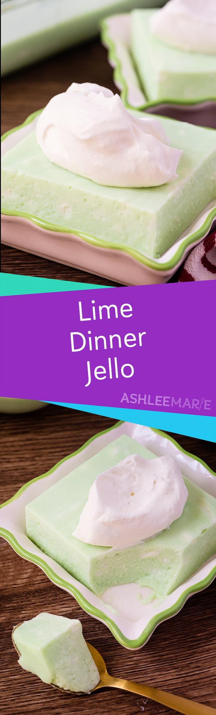 creamy lime jello