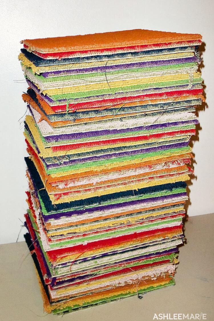 candyland carpet squares