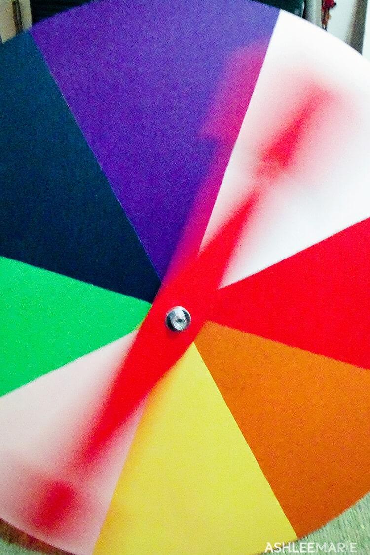 spinning candyland spinner
