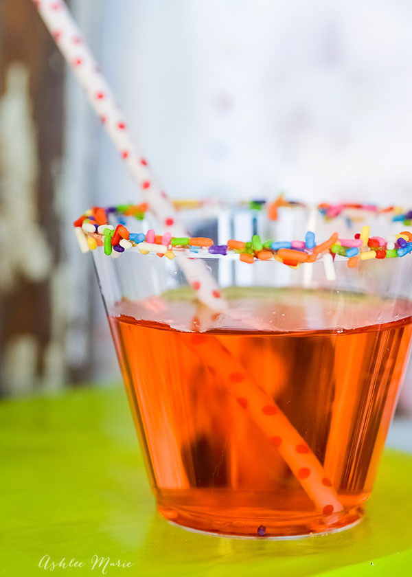 everyone loves the extra touches you put into a party, like adding sprinkles to the party cups