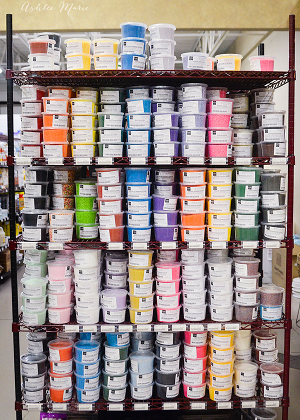 I love all the beautiful, and organized sprinkles