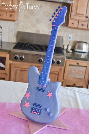 barbie-standing-guitar-cake-carved