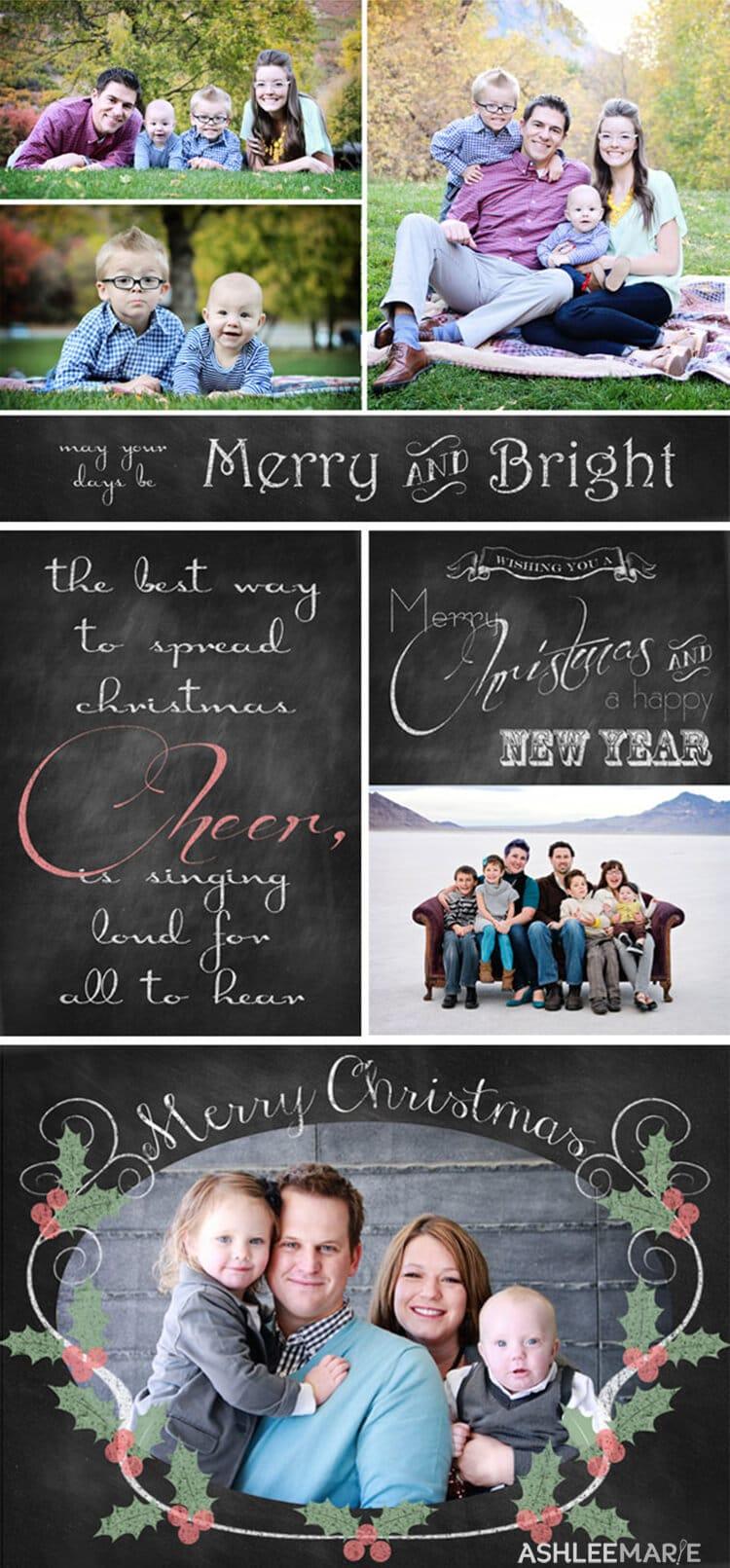 Chalkboard-Christmas-card-printables