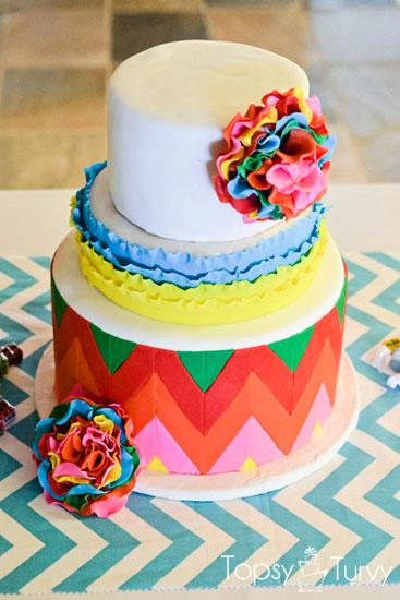 cinco-de-mayo-cake-fondant-ruffled-flowers