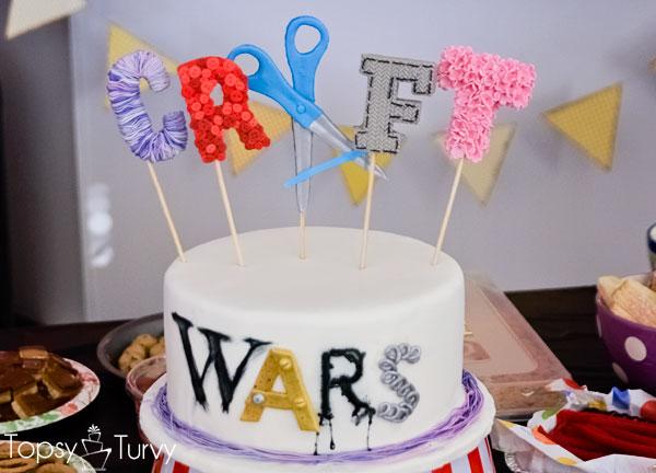 craft-wars-logo-cake