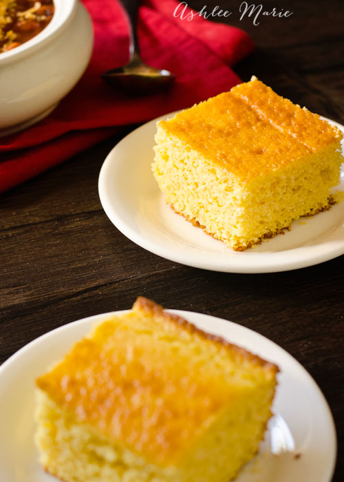 a slightly sweet and amazingly delicious cornbread recipe