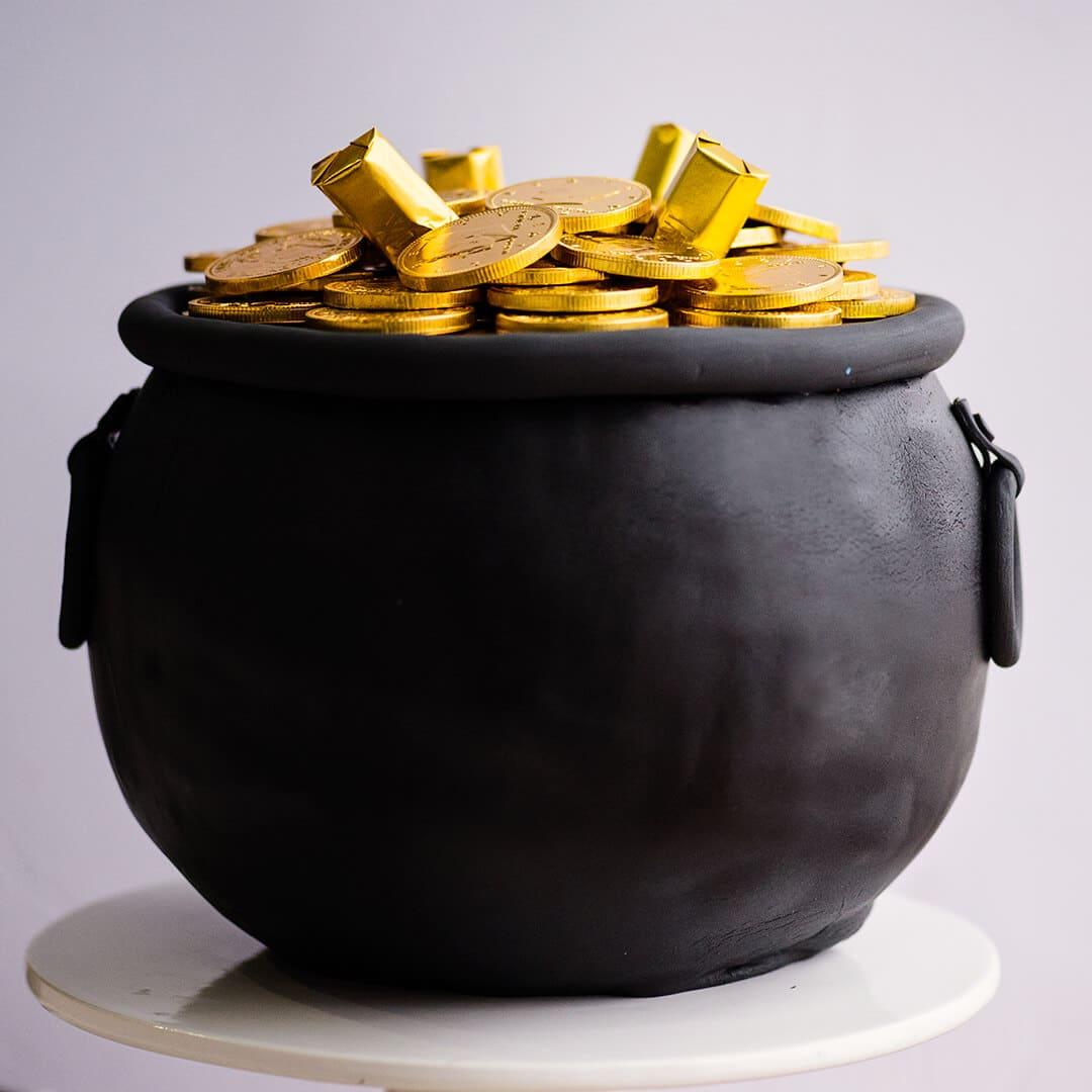 pot of gold cake video tutorial