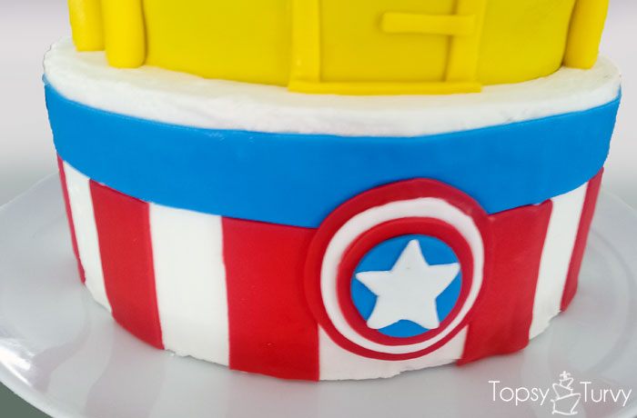 super-hero-buttercream-cake-fondant-captian-america