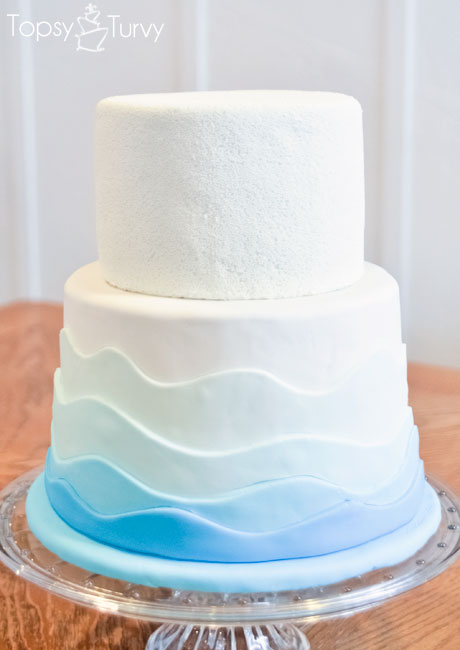 white-nonperil-fondant-waves-birthday-cake